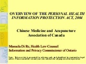Presentation For Chinese Medicine A...