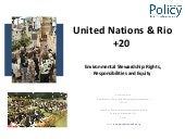 United Nations and Rio +20