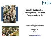 Socially Sustainable Development - ...