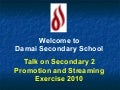 Presentation For Sec 2 Talk On Streaming And Promotion 2010