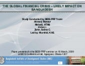 Presentation on Global Financial Cr...