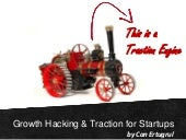 Growth Hacking & Traction for Startups - The Spot, Bratislava, Feb 2015