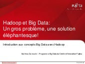 Introduction à Hadoop