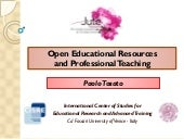 Open Educational Resources and Prof...