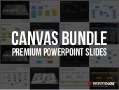 Business Model Canvas and Product Canvas PowerPoint Template