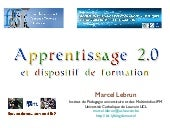 Apprentissage 2.0 et dispositif de ...