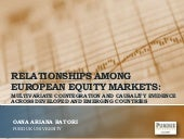 European Stock Markets Research Paper