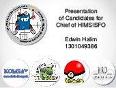 Presentation of candidates for chie...