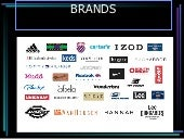 presentation of brands
