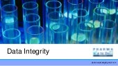 Presentation on data integrity in P...