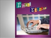 E- Mail Ettiquetes