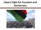 24 May 2011 - Presentation on Libya...