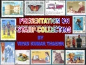 Presentation on stamp collecting