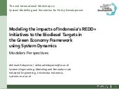 Modelling Green Economy using SD