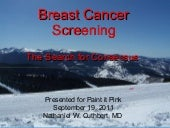Breast Cancer Screening Presentatio...