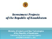 Strategic Investment Projects in Ka...