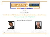 Milagrow IMT Study: Practices for S...
