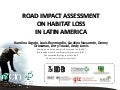 Impact of roads on deforestation levels across Latin America