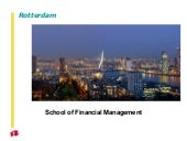 Presentation School of Financial Ma...