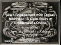 User Engagement with Digital Archives: A Case Study of Emblematica Online