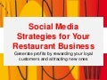Social Media For Restaurants - Marketing Plan