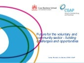 Future for the voluntary and commun...