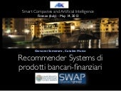 Financial Recommender Systems