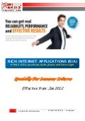 Presenter manual RIA technology (specially for summer interns)