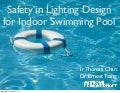 20131018 Safety in Lighting Design for Indoor Swimming Pool