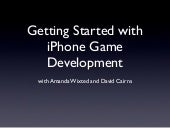 Getting Started with iPhone Game De...