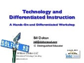 Technology & Differentiated Instruc...