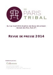 Pressbook Paris Tribal 2014
