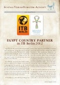 EGYPT COUNTRY PARTNER in ITB Berlin 2012Press release -_english