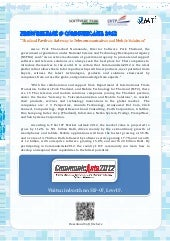 Press Release CommuniAsia2012