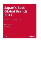 Interbrand Japan's Best Global Bran...