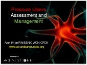 Pressure ulcer assessment and manag...