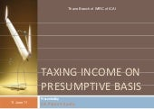 Presumptive Taxation