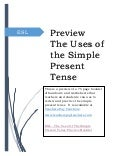 Preview The Uses Of The Simple Present Tense