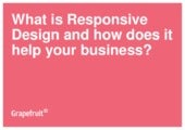 Why Every Business Needs Responsive Design