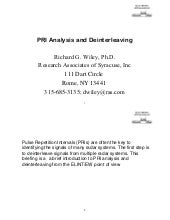 Dr. Wiley - PRI Analysis and Deinte...