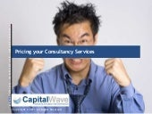 Pricing your consultancy services