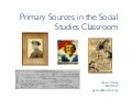 Primary Sources 2007