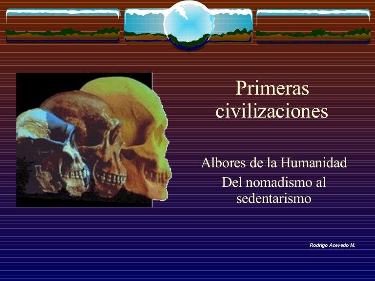 Resultado de imagen de La Humanidad y las Civilizaciones