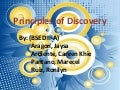 Principle of discovery