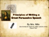 Principles Of Writing A Great Persu...