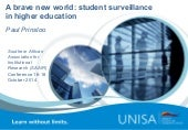 A brave new world: student surveillance in higher education