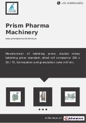 Prism pharma-machinery