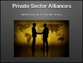 Private Sector Alliances