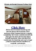 Private Jet Rental Chicago To New York