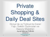 Private shopping and daily deal sunum